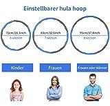 Zoom IMG-1 newlemo hoola hoop per adulti