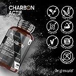 Charbon Actif Végétal de Coco 100% Naturel Extra Fort 2000 mg par Portion - 180 Gélules Vegan, Sans Additifs - Testé par Agrolab - Charbon Végétal de Poudre de Coque de Noix de Coco #2