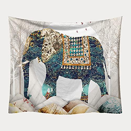 NHhuai Manta con Estampado de Elefante Vintage