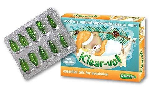 Klearvol Essential Oils Inhalation Capsules | from 3 months + | Karvol...
