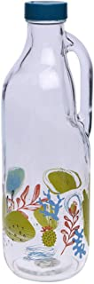 Pasabache Cylindrical Tainted Milk Bottle - (1 L, Transparent, Free Size)
