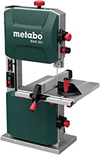 comprar comparacion Metabo 619008000 619008000-Sierra de cinta BAS 261 Precision, 400 W, 230 V, verde