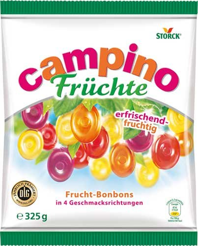 5x Storck - Campino Früchte - 325g