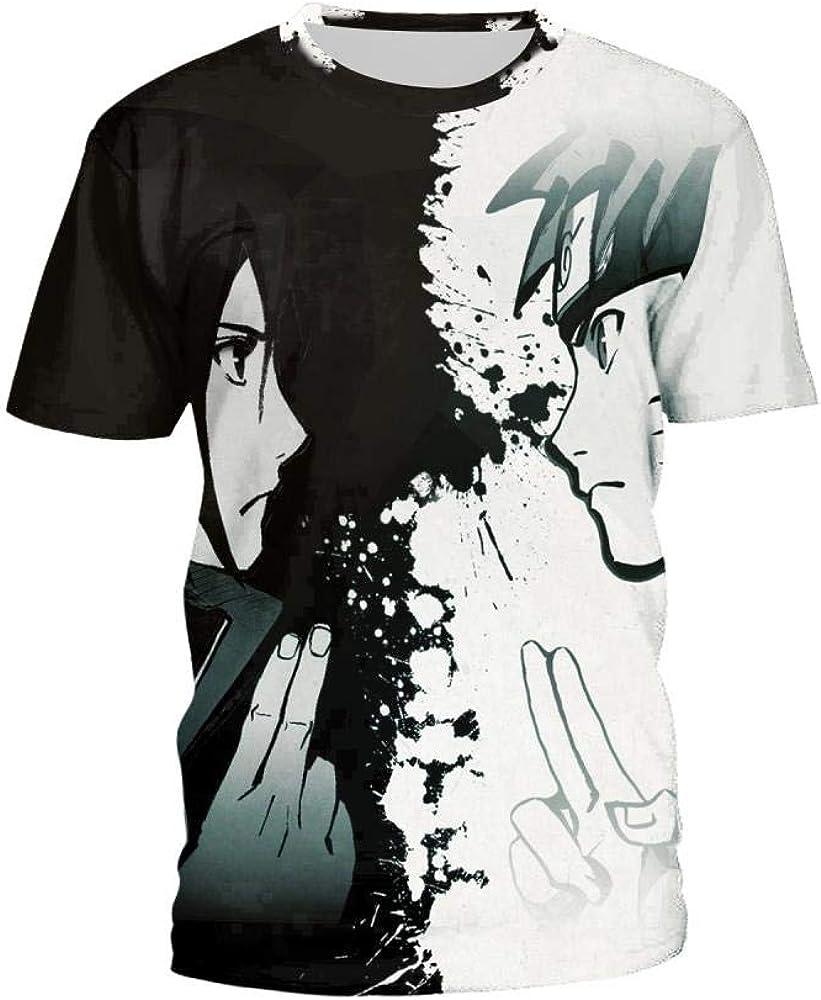 douzxc Anime Hombres Camisetas Deporte Camisetasnaruto Naruto ...