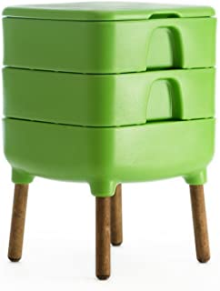 HOT Frog Living Composter - Worm Composter (Amphibian Green)
