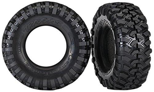 Traxxas Tires 8270 Canyon Trail 1.9 Reifen mit Schaumstoffeinsätzen (S1 Compound)
