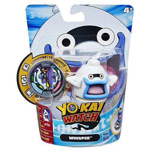 Hasbro Yo-Kai Watch B5939EL5 – Figura de Juguete con medallas de Whisper, Juguete Coleccionable