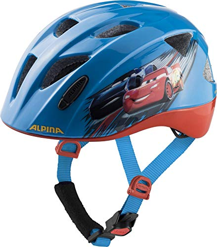 ALPINA XIMO DISNEY Fahrradhelm, Kinder, Disney Cars, 49-54