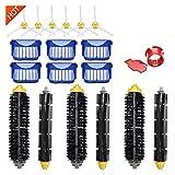 GUANGGUANG Heartwarming Shop Kit de Accesorios de reemplazo Fit for Irobot Roomba Vacuum Cleader 600 Series 690 680 660 651 650 y 500 Series (Color : 21pcs Kit)