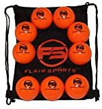 Flair Sports - 9 Pack Baseball/Softball Weighted Training Balls for Hitting/Pitching - Improve Power - Heavies...