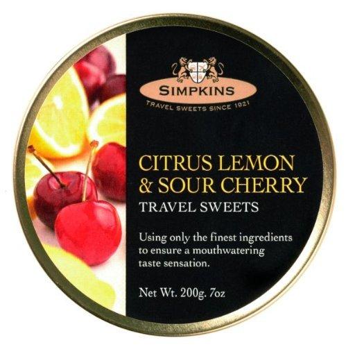 Simpkins Citrus Lemon & Sour Cherry 200g (3 Pack)