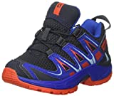 SALOMON Unisex-Kinder Xa Pro 3D J Outdoor-Multisport-Schuhe, Blau (Deep Blue Yonder/Lava Orange), 37...