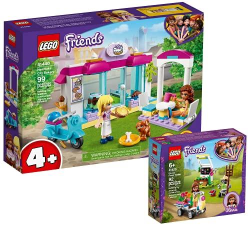 Collectix Lego Set Friends Heartlake City panadería 41440 + Friends Olivias 41425