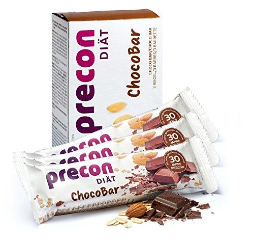 Precon BCM Diät Riegel zum Abnehmen – ChocoBar – 3 Riegel à 64 g – Mahlzeitenersatz für eine gewichtskontrollierende Ernährung