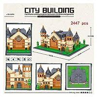 YOUPIN レッグミニマイクロブロックオックスフォードルーブルダイヤモンドビルグレートウォール中国建築大学ケンブリッジロンドンパリエッフェルタワー (Color : 8038 no box)