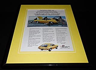 1971 Ford Pinto Runabout Framed 11x14 ORIGINAL Vintage Advertisement