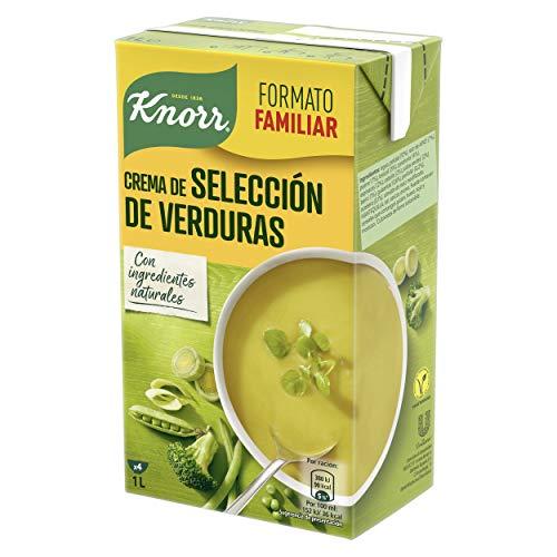 Knorr - Las Cremas - Selección de verduras - 1 l - Pack de