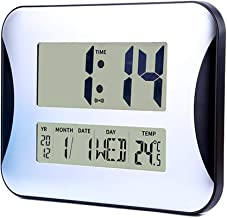 Large Digital Wall Clock with Fold-Out Table Stand, Size is 13 inches with Big 3.15 Inch Digits, Perfect for Bedroom/Office/School, Battery Operated Without Backlight