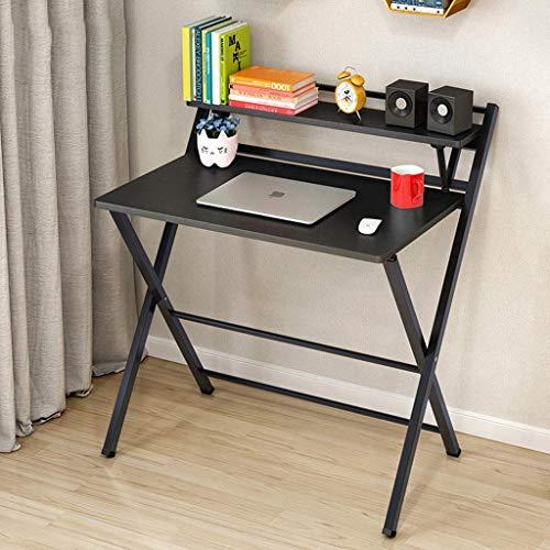 AJH - Mesa de ordenador plegable para escritorio, moderno, minimalista,...