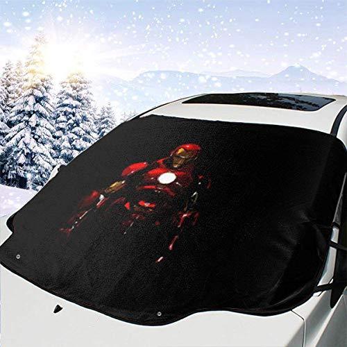 AEMAPE Frontal multifunción para automóvil, Parasol Protector contra heladas Protector de Invierno Cubiertas Delanteras para Nieve automotrices, adecuadas 147 x 118 cm-7MP