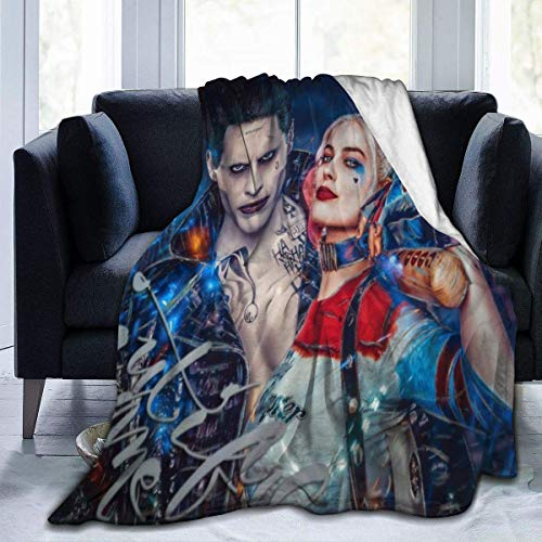 51N5VTemzYL Harley Quinn Blankets