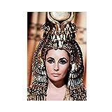 Elizabeth Taylor Poster berühmter Film Star 1963 Königin