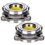 SCITOO Both(2) 515040 Front Wheel Hub Bearing Assembly fit 2005-2016 for Toyota Tacoma 2003-2009 for Lexus Gx470 (do not 2006 for Toyota Tundra 2wd) Hub Bearing Kit