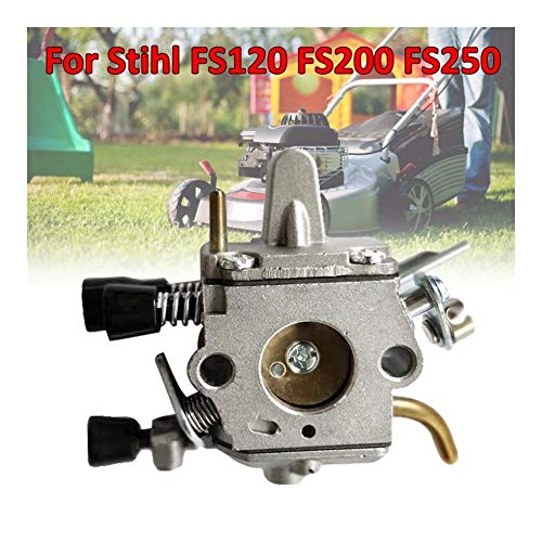 Duradero 1PCS metal carburador astilla del carburador Kit carburador for Stihl FS120 FS200 FS250 Trimmer Weedeater desbrozadora Reemplazar carburador (Color : Carburetor)