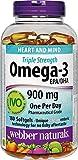 webber naturals Omega-3 900mg 200 Softgels