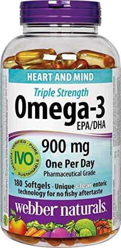 webber naturals Omega3 900mg 200 Softgels