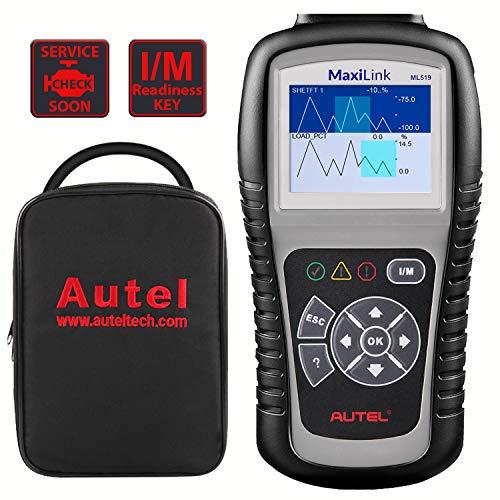 Autel MaxiLink ML519 OBD2 Code Reader [Same with AutoLink AL519], Enhanced Mode 6 Fault Code Reader,...