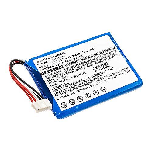 CELLONIC® Qualitäts Akku kompatibel mit Harman Kardon Esquire 2, CP-HK03, GSP805070 2800mAh Ersatzakku Batterie