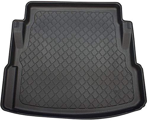 Gyxb Kofferraummatten FüR Jaguar XE 06.2015-2019, Bodenmatte FüR Kofferraumablage, rutschfeste Traymatte, Auto-Styling.