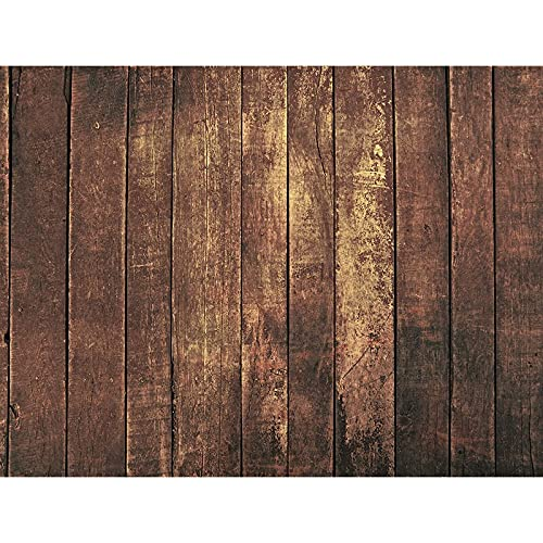 Fondo de fotografía de tablón de Madera apoyos Piso de tablón Fondo de Estudio fotográfico Fondo de fotografía de Vinilo A15 10x10ft / 3x3m