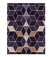 CnCnCn 3Dチャンネルカーペット回廊エントランスベッドルームコーヒーテーブルパッドノンスリップ (Color : A, Size : 60x480cm)