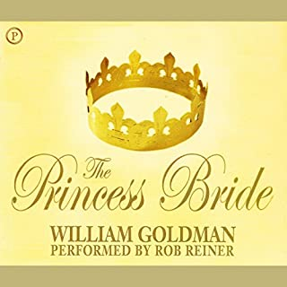 The Princess Bride audiobook cover art
