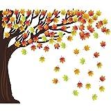 128 Pieces Classroom Tree Bulletin Board...