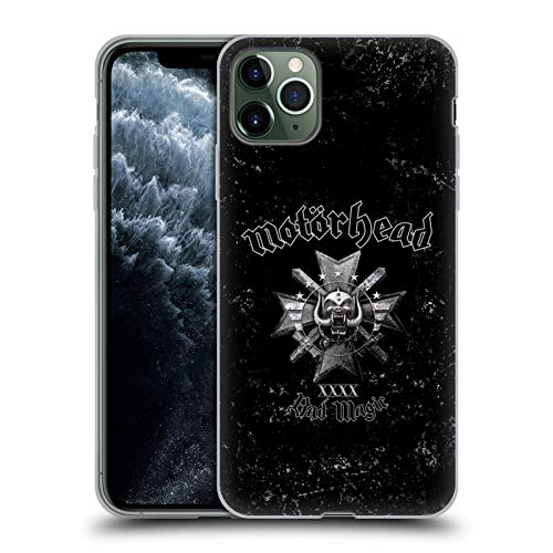 Head Case Designs Oficial Motorhead Mala Magia Portadas de Álbumes Carcasa de Gel de Silicona Compatible con Apple iPhone 11 Pro MAX
