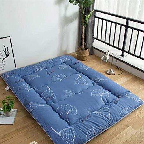 Kunyun De Estilo japonés Grueso colchón futón, Plegable Suave Piso Anti-caída Tatami colchón futón, Conveniente for el Estudiante Dormitorio Dormitorios Tamaños múltiples están Disponibles