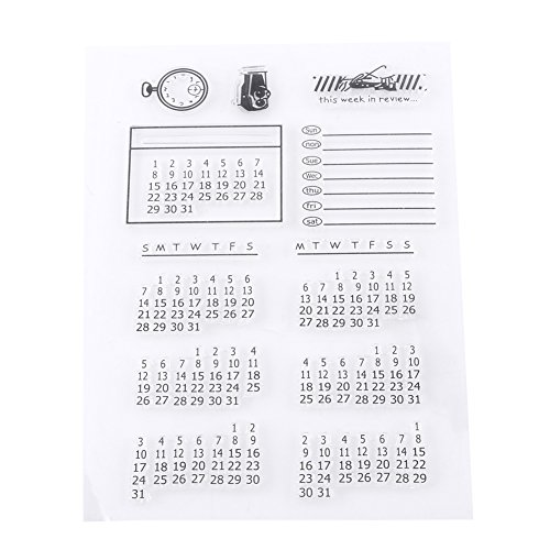 Stamp Alphabet Transparent Silikon Stempel Siegel Für Scrapbooking Fotoalbum Kalender Weihnachten Spaß 16 x 11 cm
