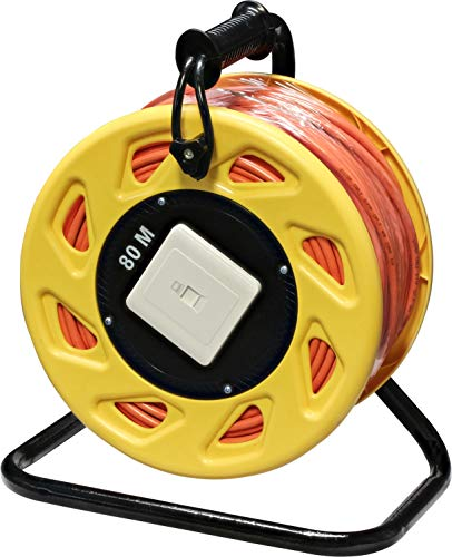 InLine 78592 Netzwerk-Kabeltrommel Cat.6A, S/FTP, 80m