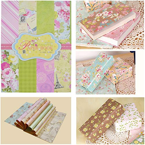 Asian Hobby Crafts Wrapping Paper Book : Size : 225 x 304 mm x 32 Sheets (604013)