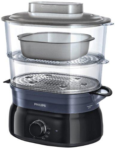 Philips Daily Collection HD9116/00 vaporizador 2 cesta(s) Negro 900 W