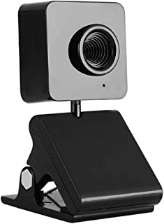 YIJ-YIJ Webcam with Microphone, Clip Webcam, Drive-Free Computer Camera, Three-Dimensional Structure Design 360-degree Rot...