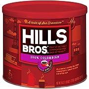 Hills Bros Coffee, 100% Colombian Medium Roast Ground, 24 Ounce