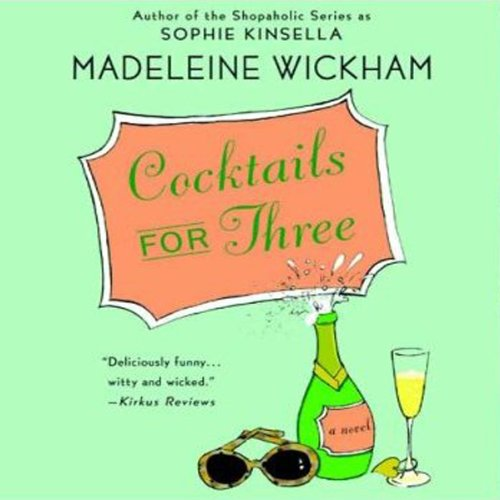 Cocktails for Three audiobook cover art