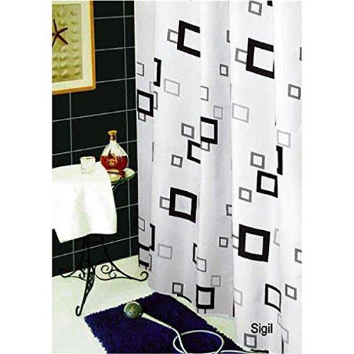 Daloual Textil Duschvorhang/Brausevorhang/Vorhang/Dusche Duschgardine180 x 200 cm