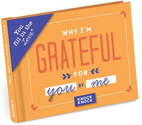Knock Knock Why I m Grateful for You Fill in the Love Book Fill in the Blank Gift Journal 4 product image