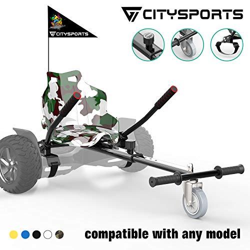 CITYSPORTS Hoverkart - Go Kart Version Enfant avec Siège pour Hoverboards - Hoverkart Universel...