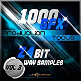 SOUND Dj Sample Pack 1000 SFX Production Tools Vol. 3 - Marvelous Sound Effects Pack Apple Loops/ AIFF (24Bit) DVD non BOX